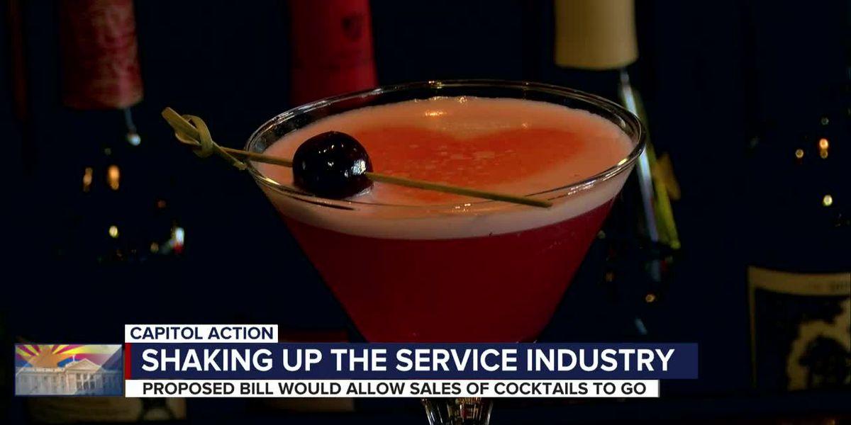 Arizona bill seeks to make cocktails-to-go permanent