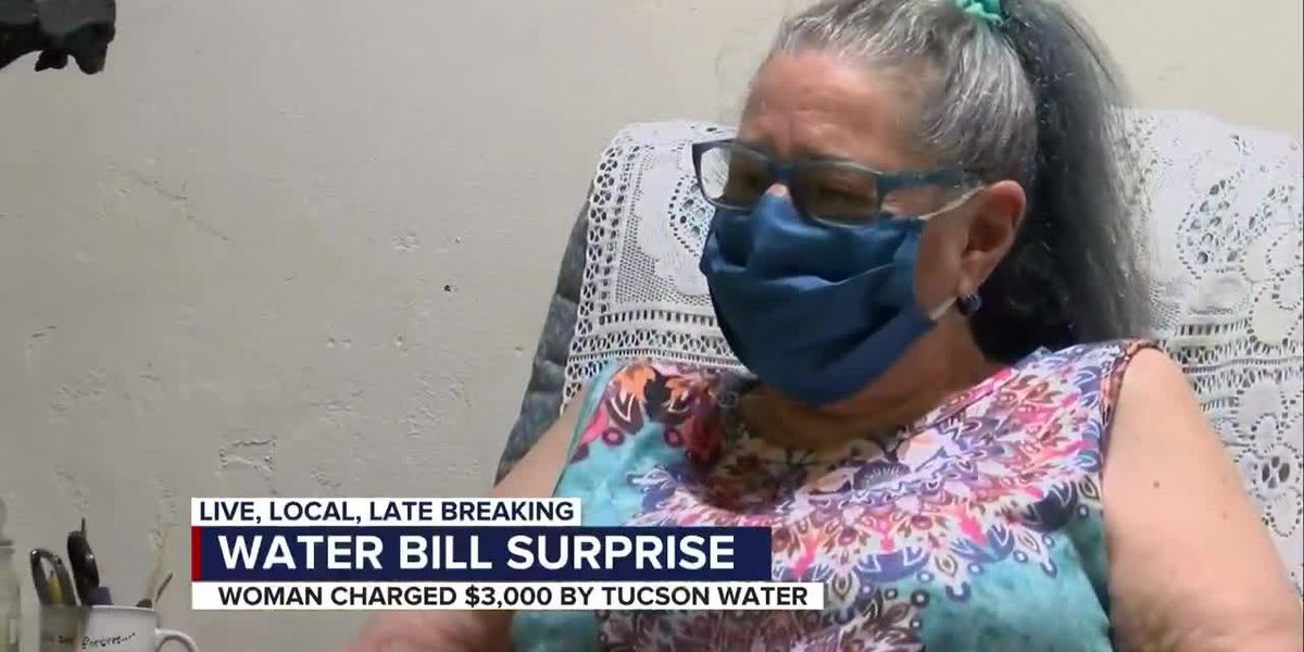 Tucson woman receives nearly $3,000 water bill