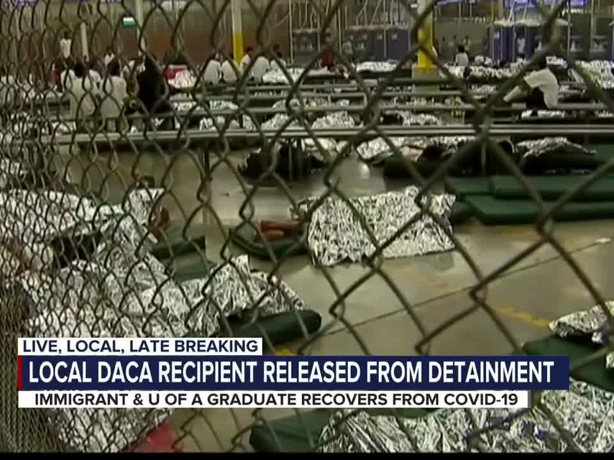 DACA recipient, UA grad, COVID-19 survivor released from detention center
