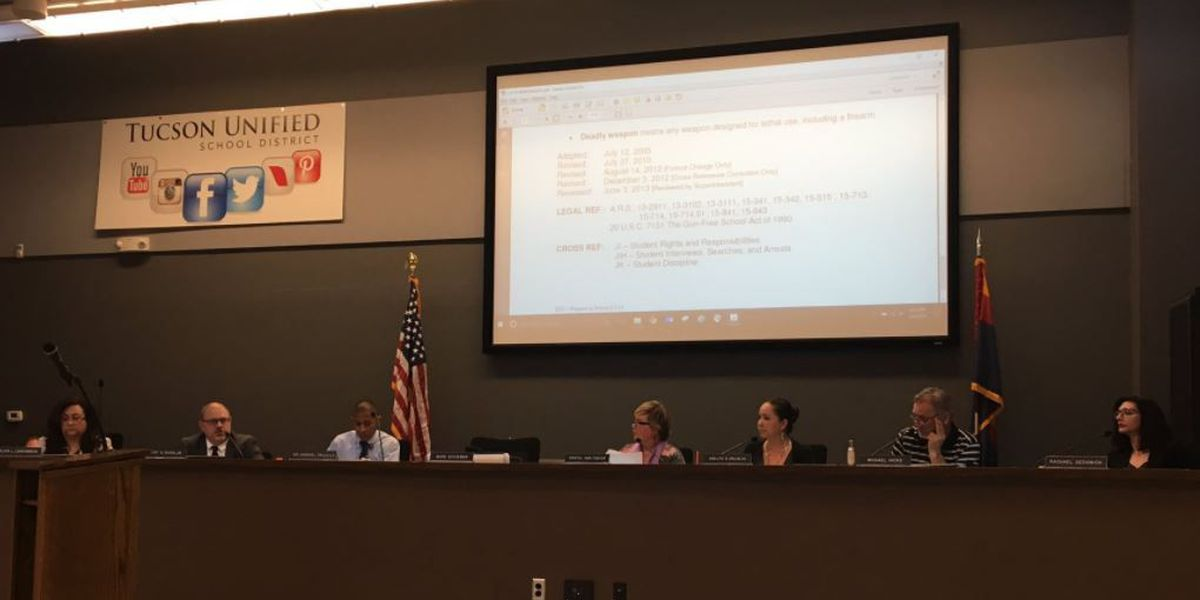 TUSD discusses school safety in wake of mass shootings