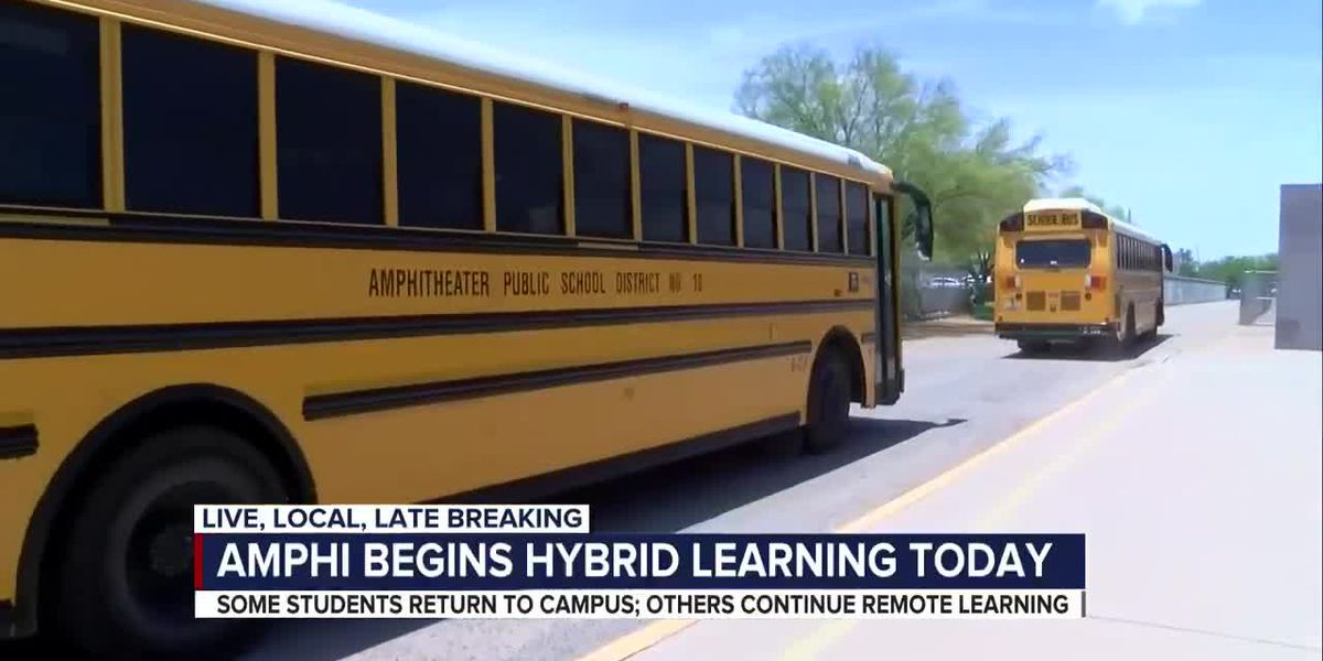 Amphi students return to campus for hybrid learning