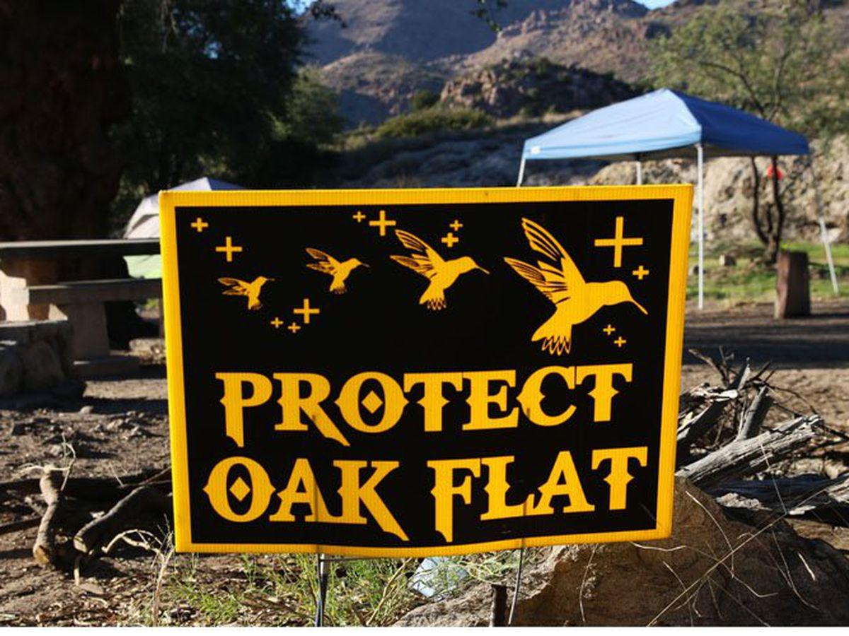 Superior mayor, tribal officials spar over bill to stop Oak Flat mine