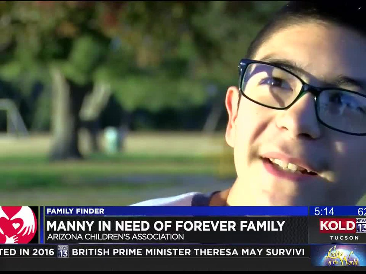 Family Finder: Manny looking for a forever family