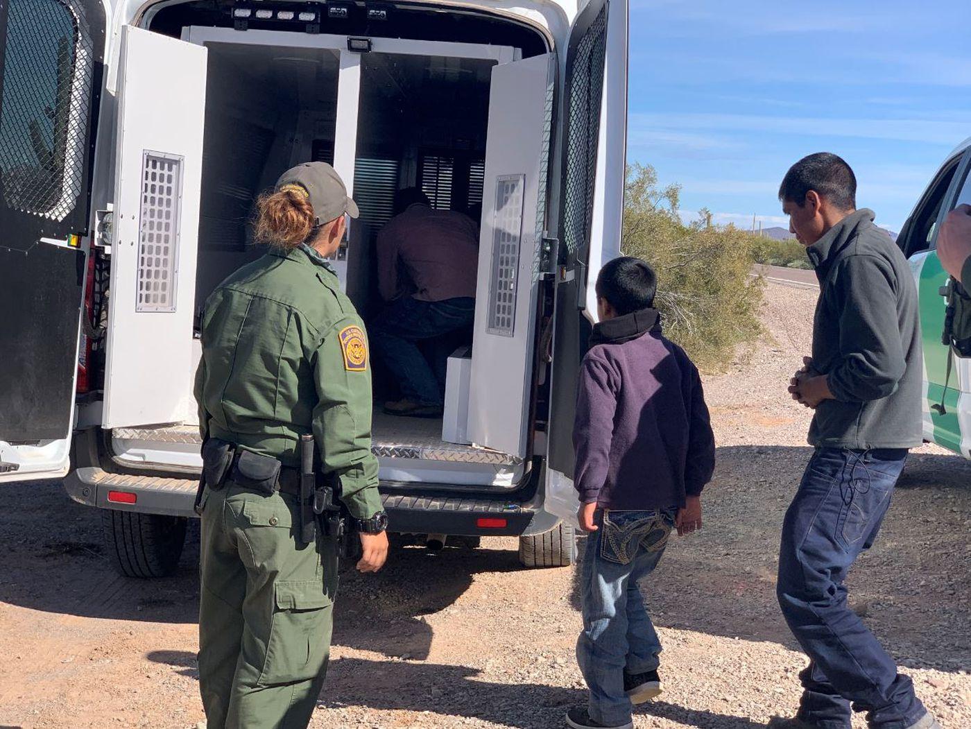 ONLY ON KOLD: Migrants take advantage of border