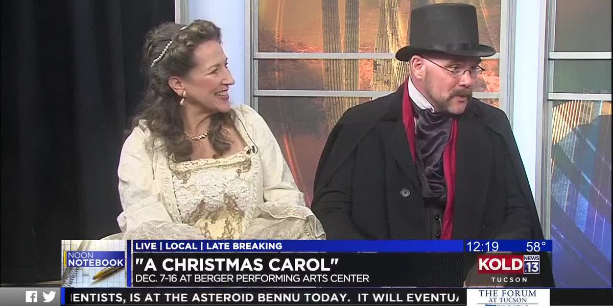 "Noon Notebook: ""A Christmas Carol"" at Berger Performing Arts Center"