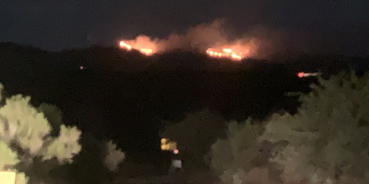 Golder Ranch Fire District responds to fire in the Tortolita Mountains, other fires burn on Forest Service land