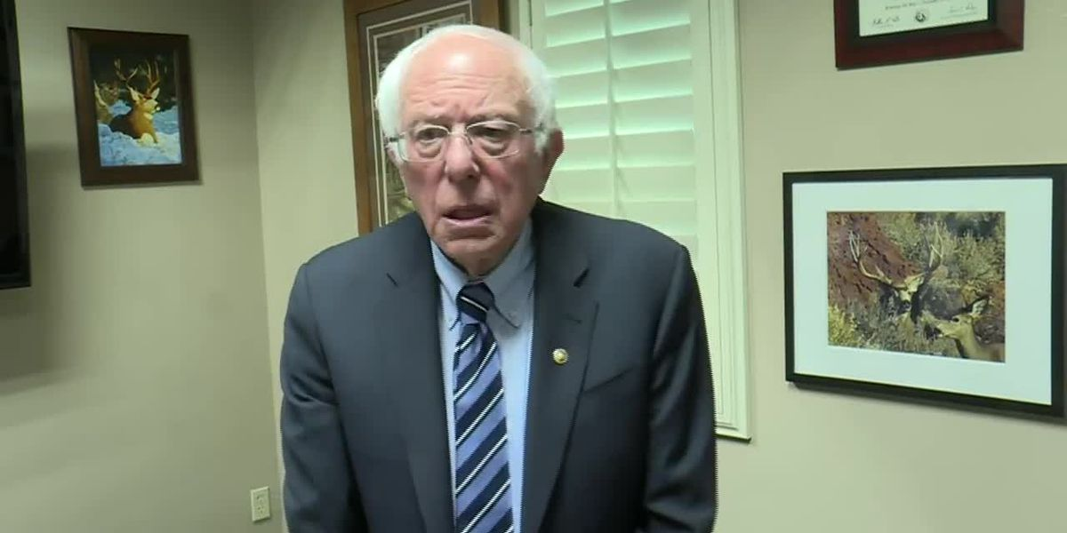 'This should not be going on in America': Sanders comments on emotional moment with sick veteran