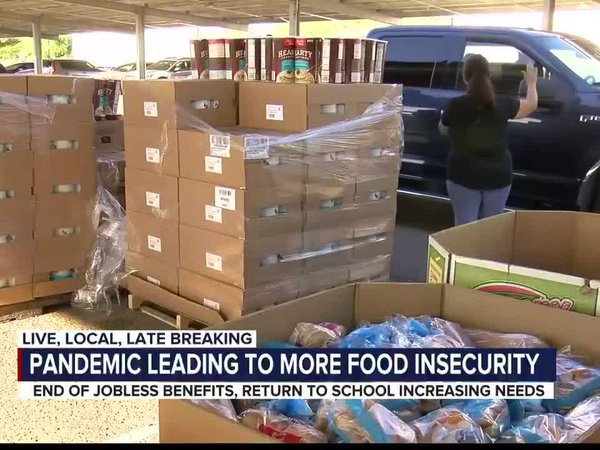 Food insecurity worries grow as unemployment benefits run out