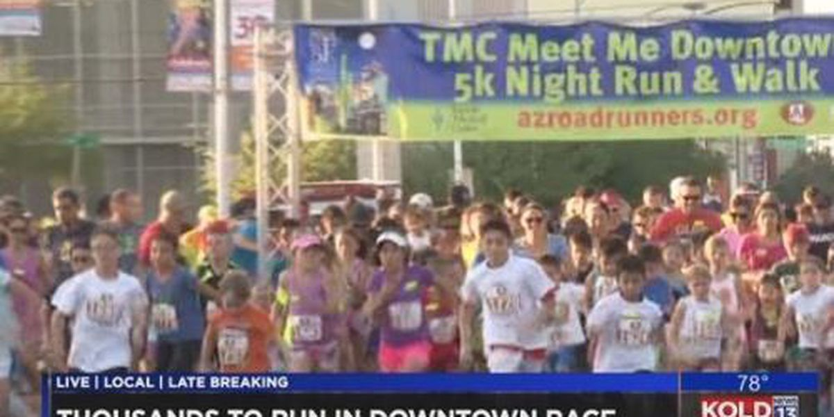 Thousands of people prepare for annual race despite the heat