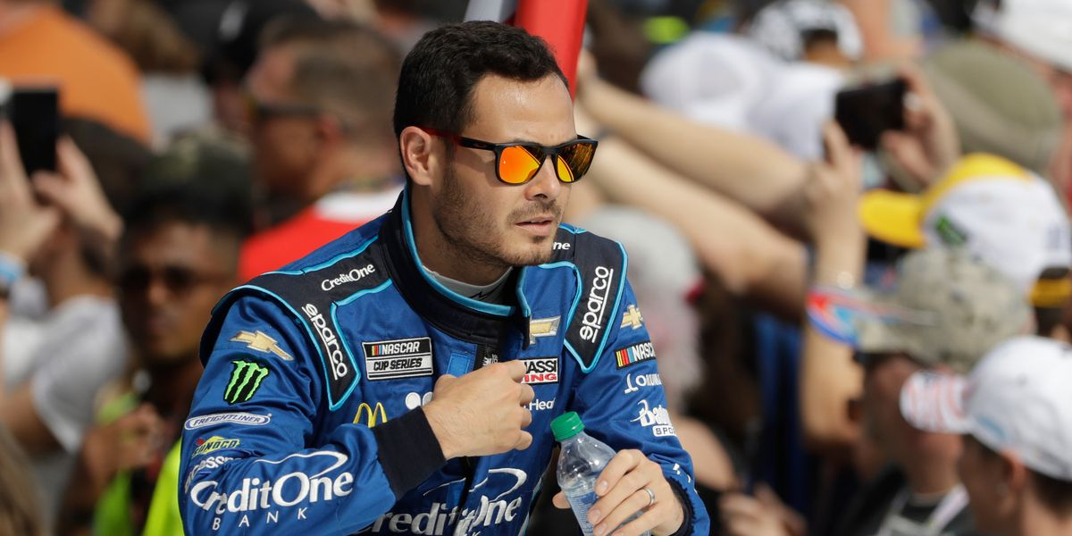 NASCAR's Larson suspended for racial slur in virtual race
