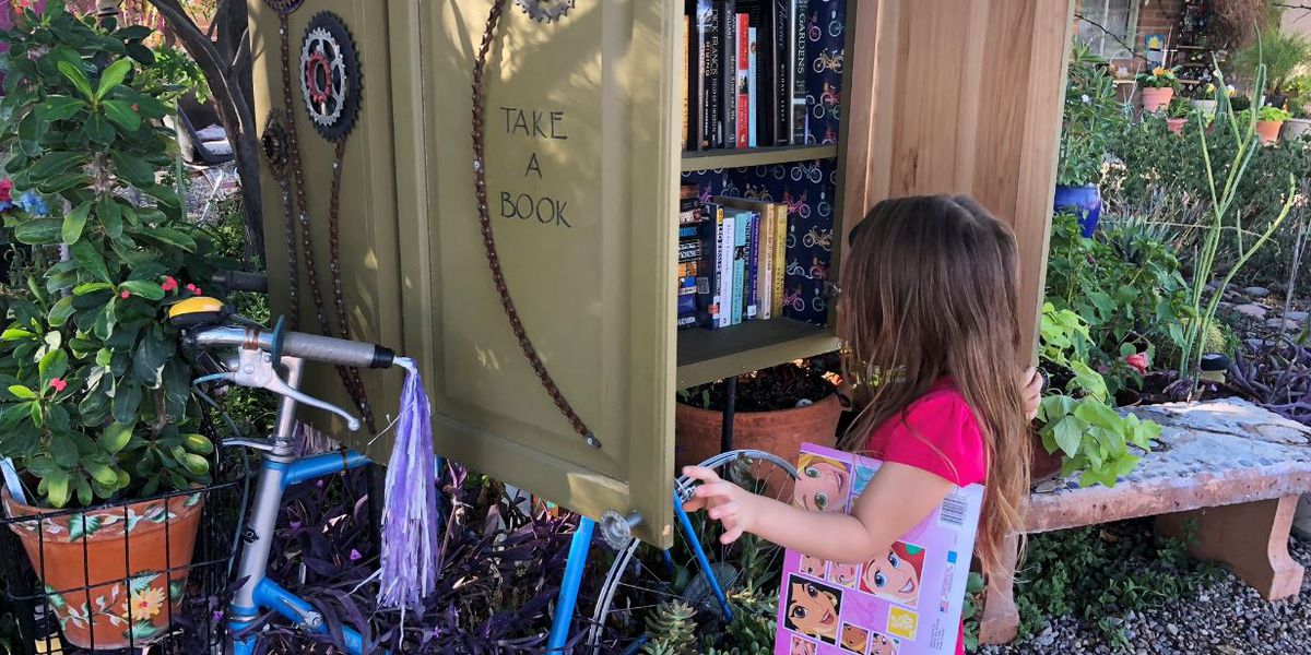 ONLY ON KOLD: Little Free Libraries in Old Pueblo bring people together