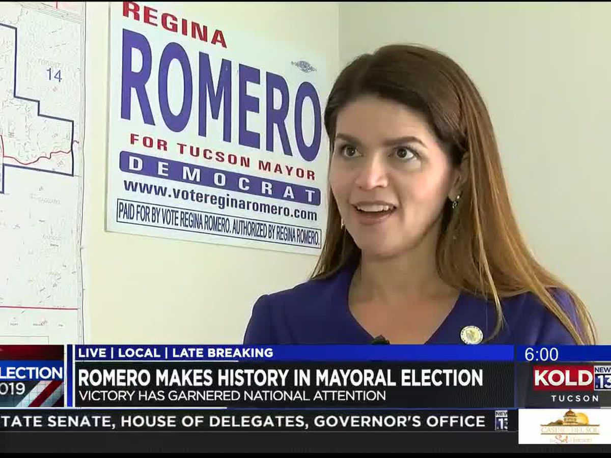 Regina Romero to be sworn in as Tucson's first female mayor