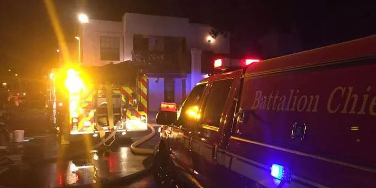 Man dies from injuries suffered in apartment fire