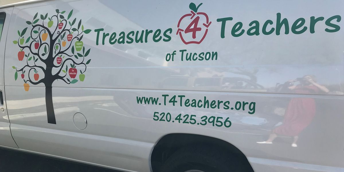 Tucson group steps up to help teachers prepare for next school year