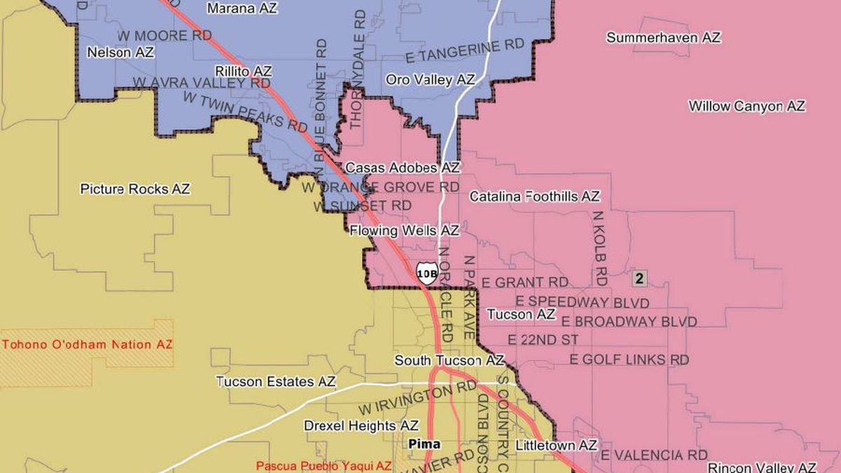 Judge rejects Arizona redistricting panel list injunction