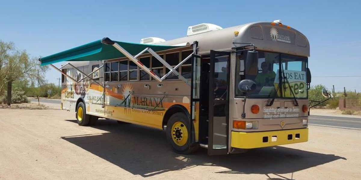 Marana Cares Mobile providing meals to kids during fall break