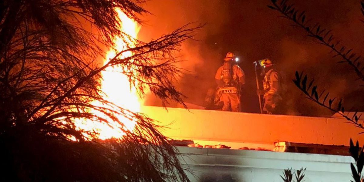 Firefighters called back to scene of fatal fire week ago