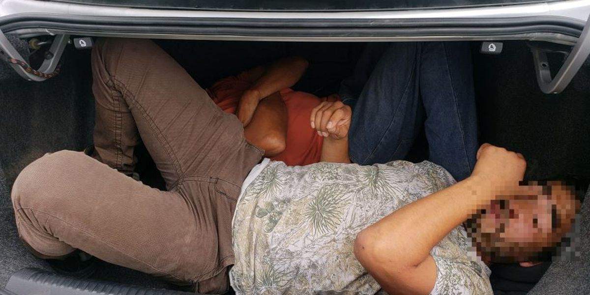 BP agents stop human smuggling attempt near Benson on Labor Day