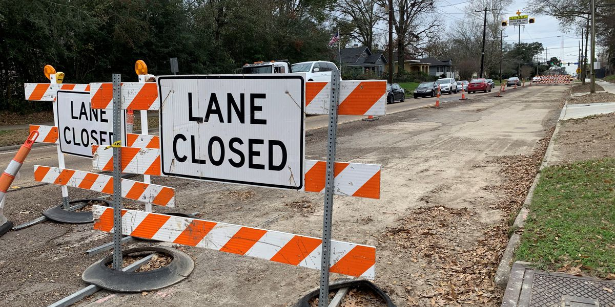 TRAFFIC: List of road closures, current projects