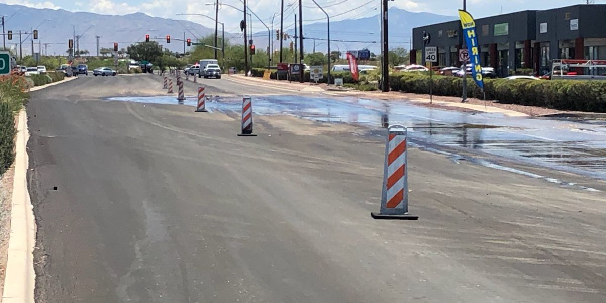UPDATE: Tucson Water responds to two main-line water breaks