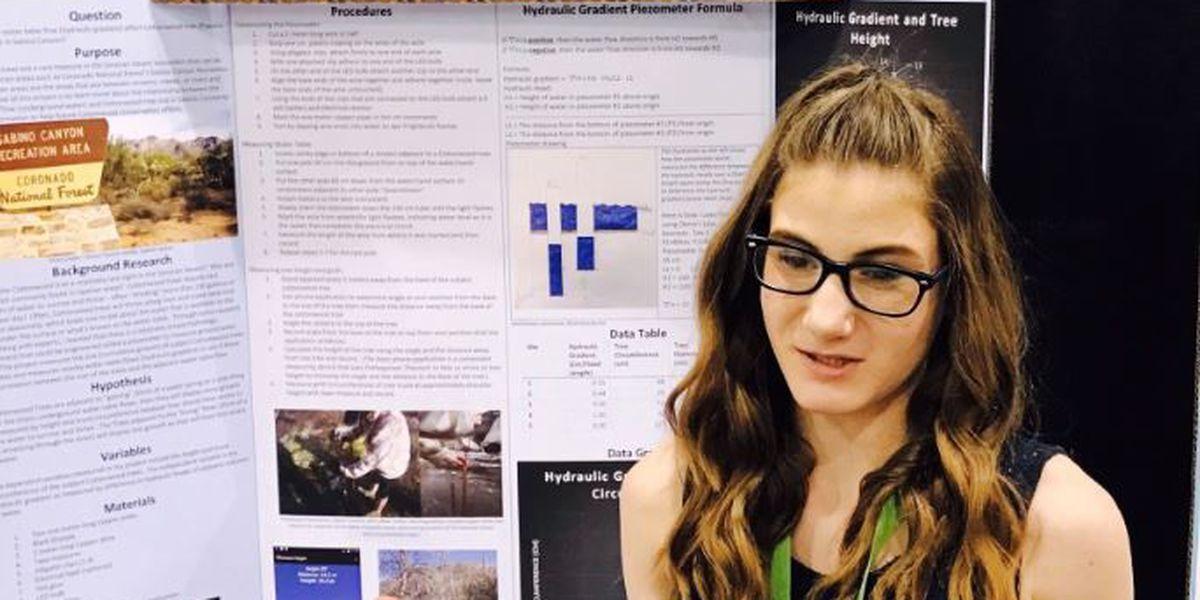 Tucson student makes top 300 list in prestigious STEM competition