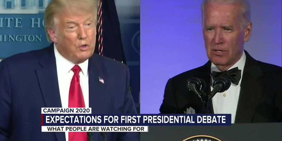 What some will be watching for in Trump/Biden debate
