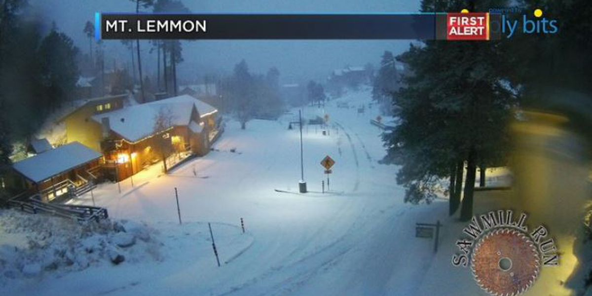 UPDATE: Road to Mount Lemmon restricted to vehicles with chains or 4-wheel drive