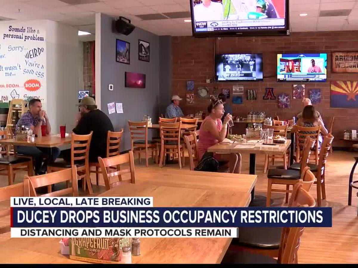 Capacity requirements lifted for Arizona businesses