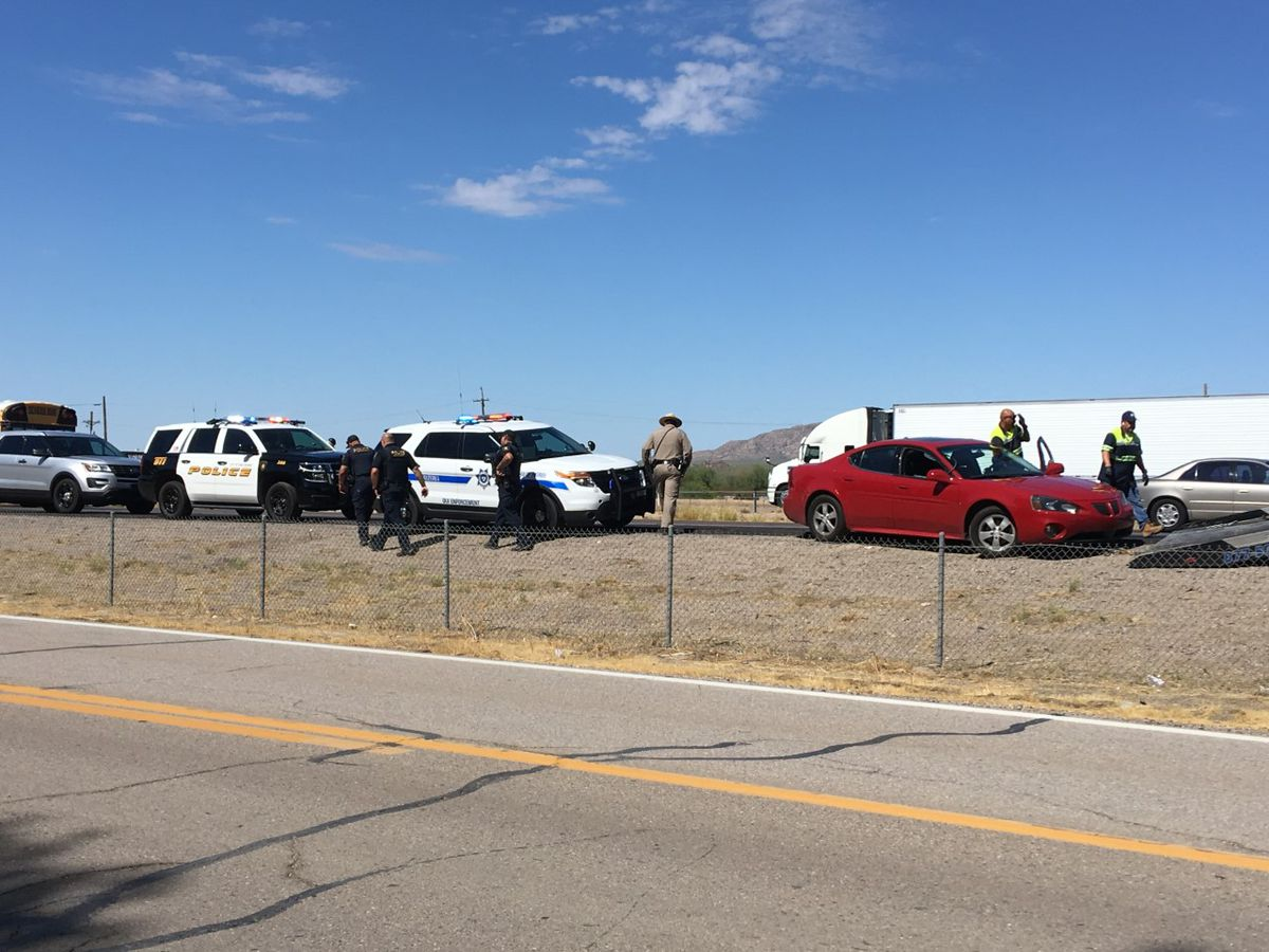UPDATE: Police chase leads to temporary closure on I-10 eastbound near Marana