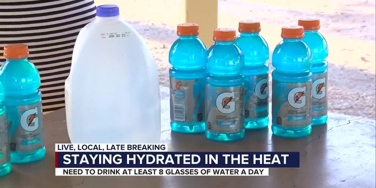 In triple-digit temps, how much should we really be drinking?