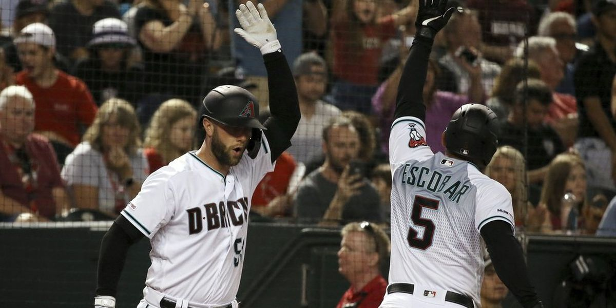 Diamondbacks hit natural cycle in 10-7 win over Brewers