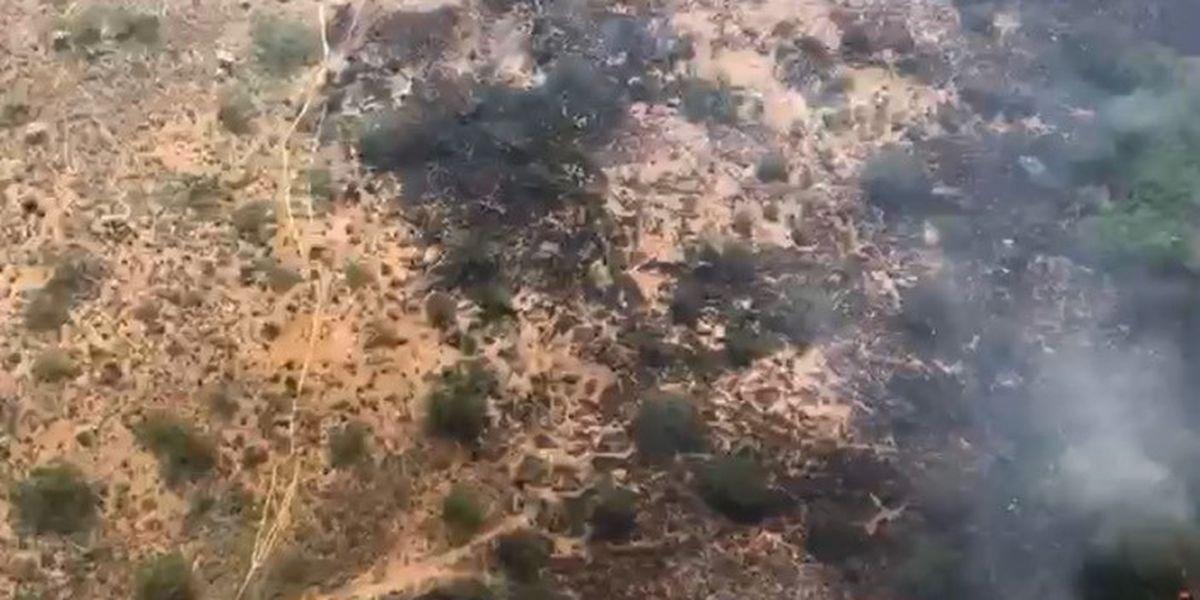 UPDATE: Wentworth Fire burns 35 acres near Sahuarita Road
