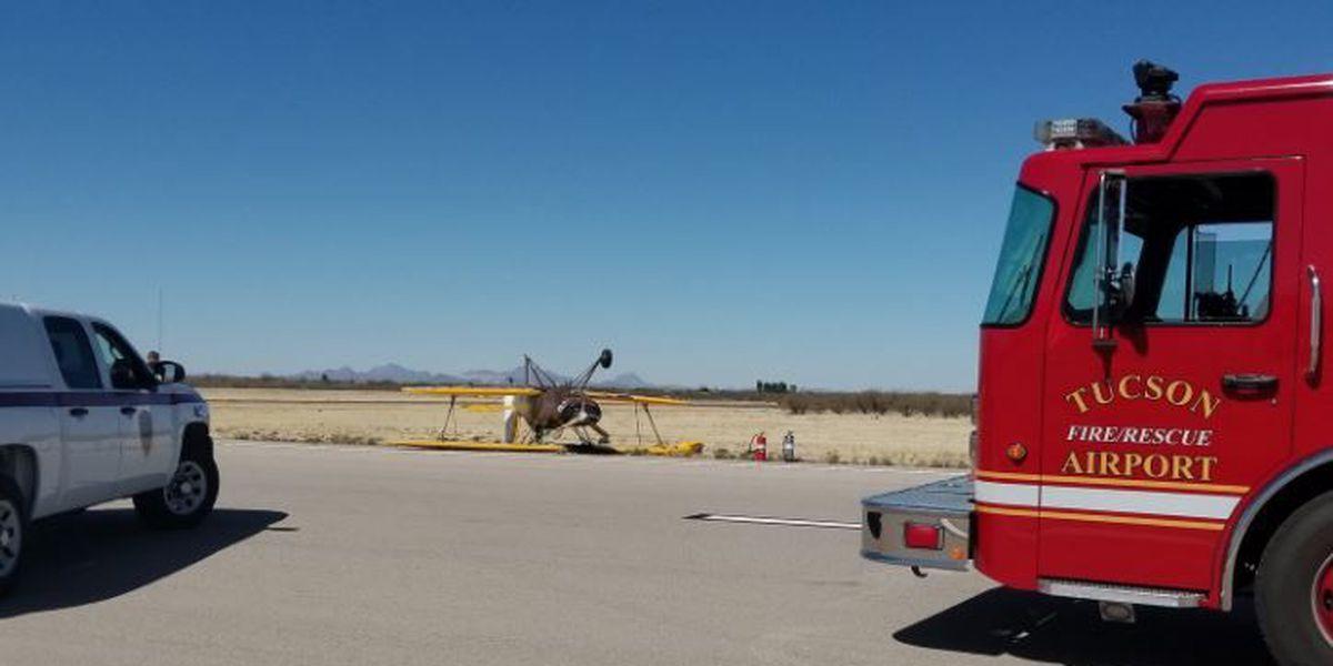 Pilot suffers minor injuries in crash at Ryan Airfield