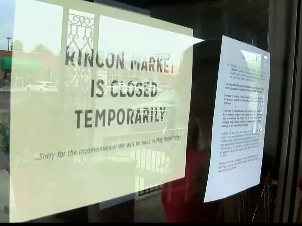 Rincon Market closes following lockout notice posted on its front door