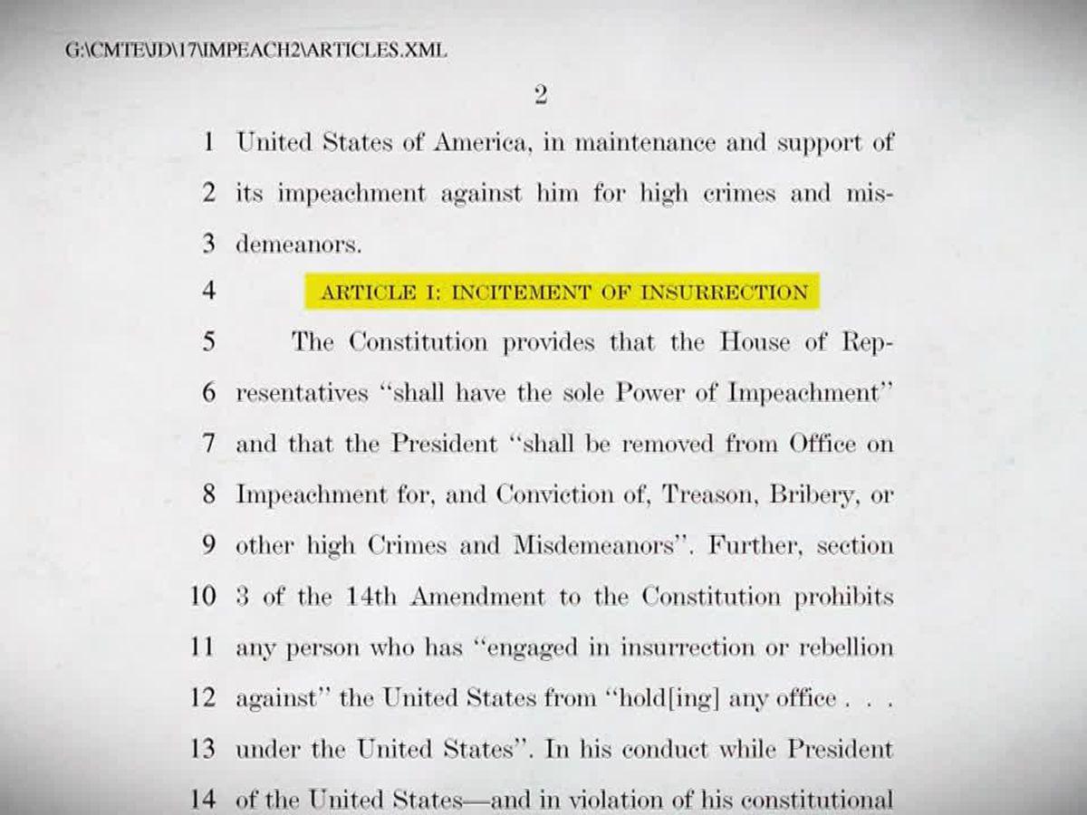 Senate readies for Trump's second impeachment trial