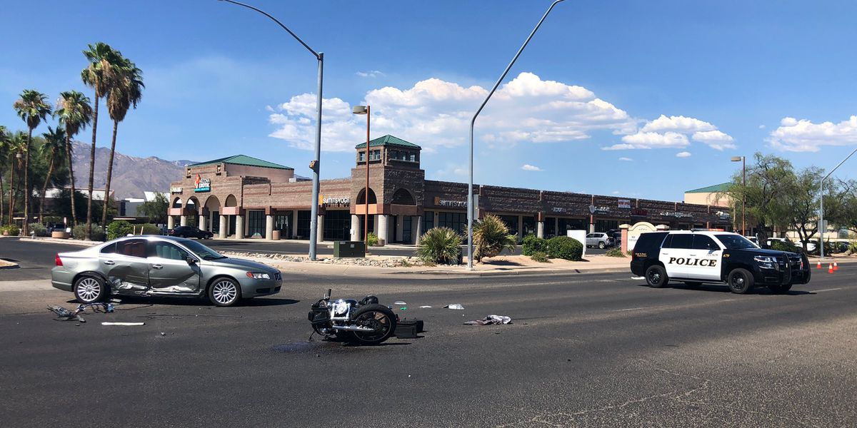 Motorcyclist suffers serious injuries in crash on Grant Road