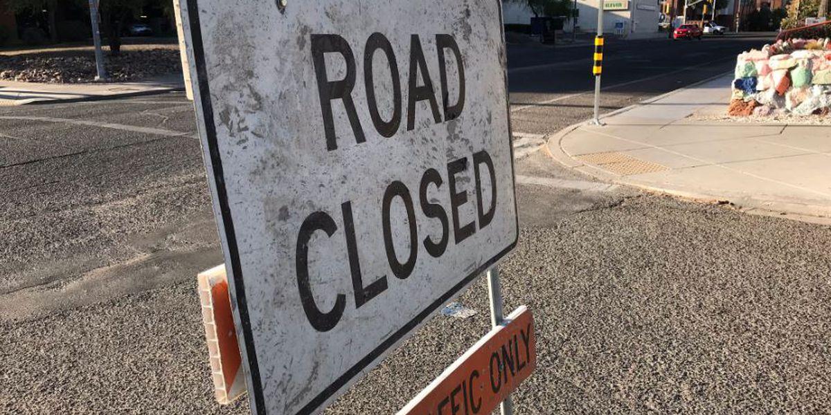 Crews begin paving roads around UA Honors Village