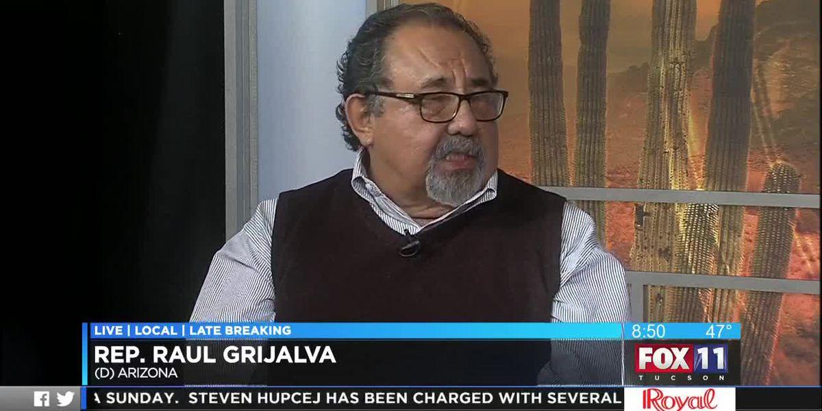 Rep. Raul Grijalva discusses President Trump, border wall environmental impact