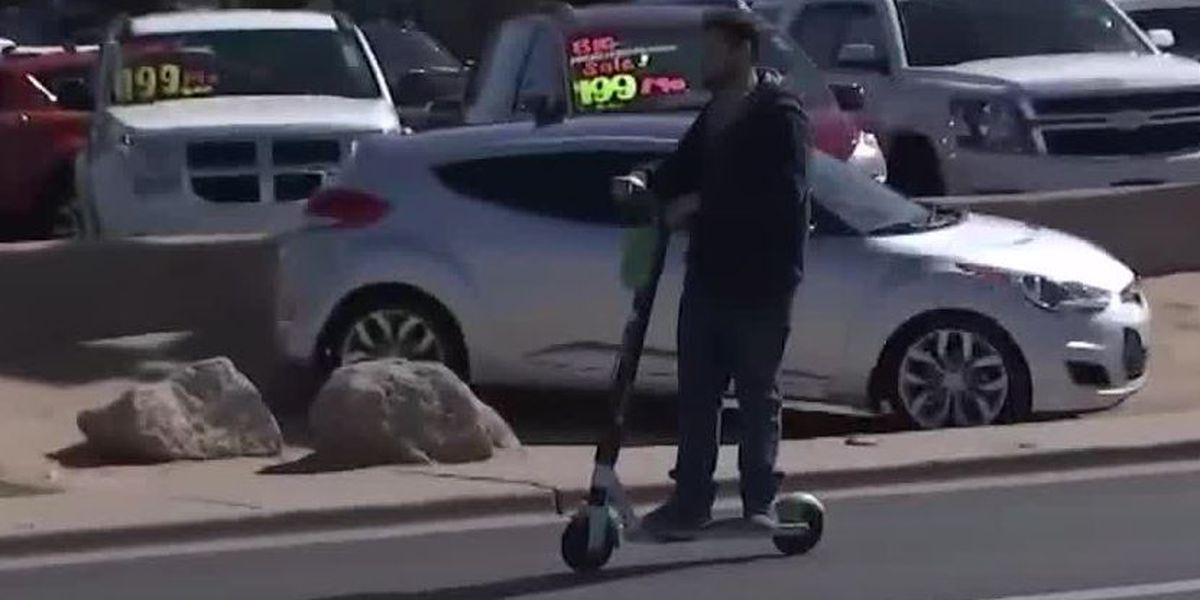 City gives preliminary approval to scooter pilot program