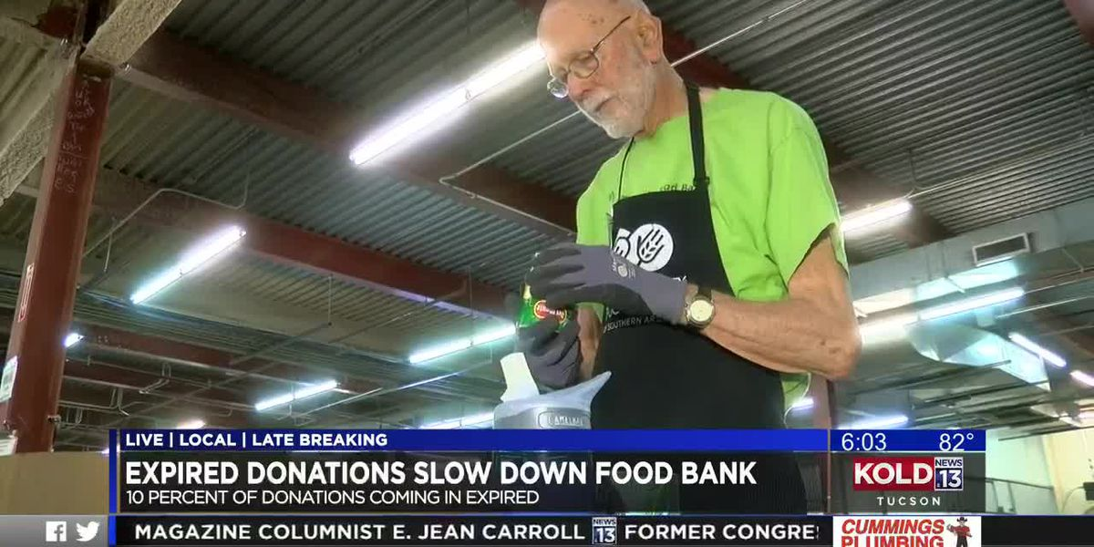 Expired donations slow down food bank's mission