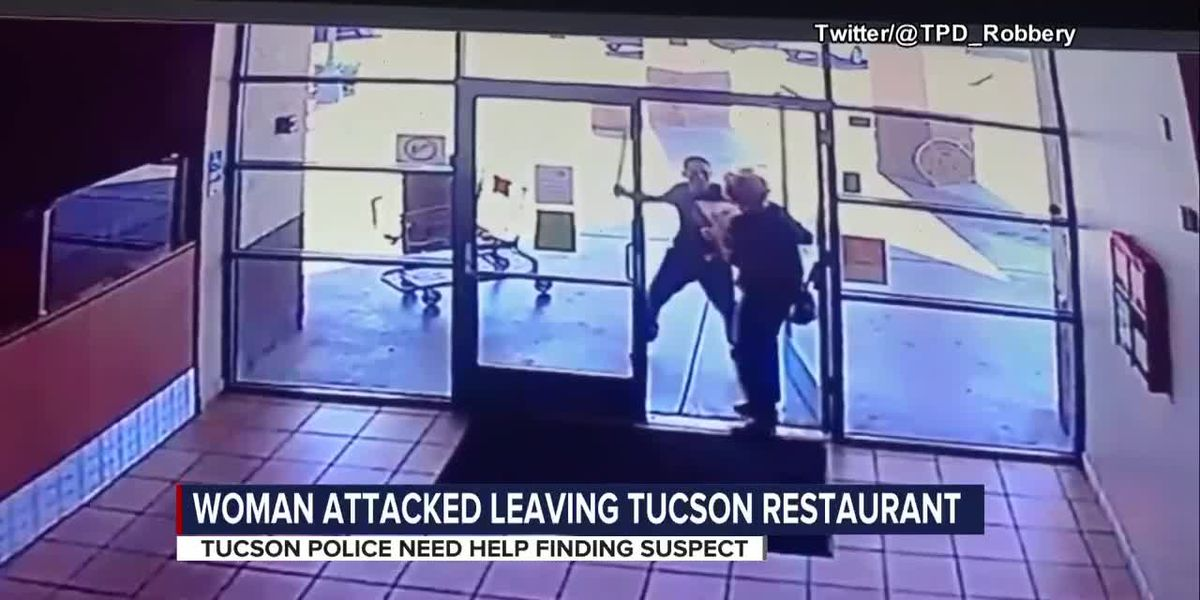 Man attacks Tucson woman then steals her pizza