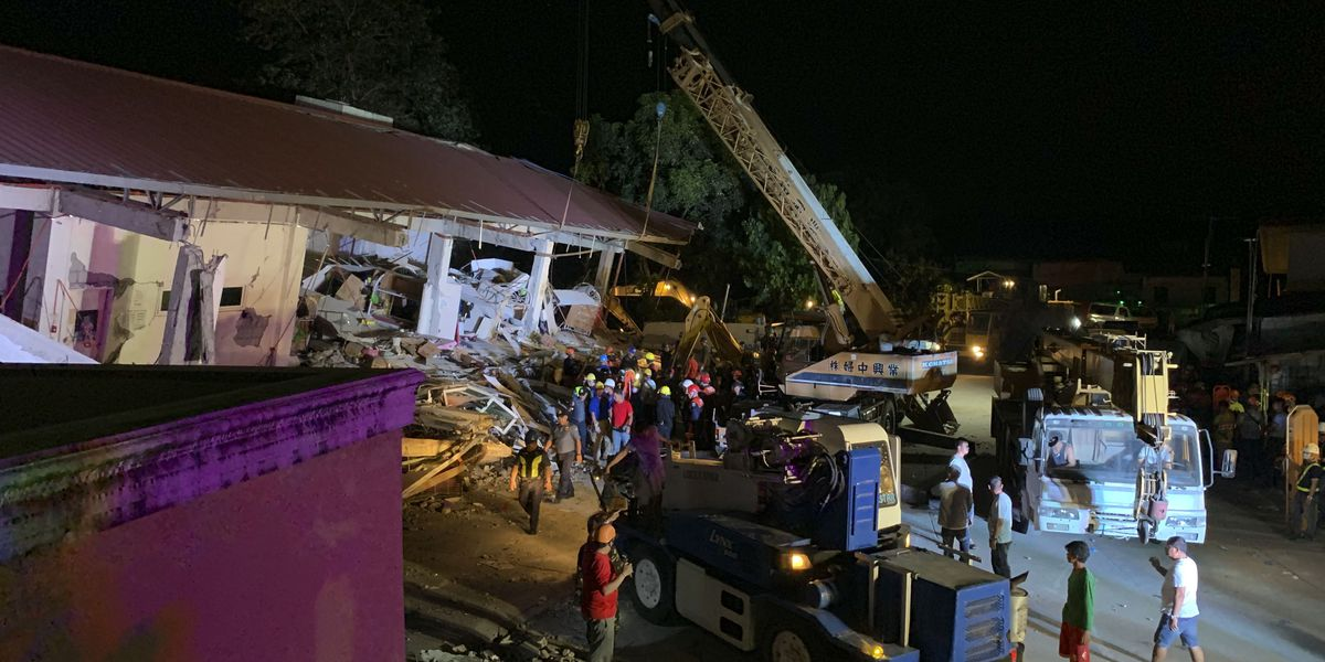 Powerful quake hits Philippines, day after deadly temblor