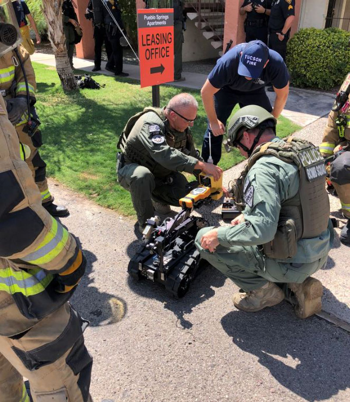 Gas Prices Tucson >> UPDATE: HAZMAT situation, suspicious odor turned out to be ...