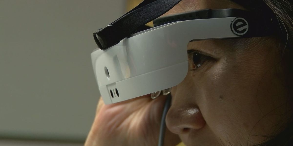 University of Arizona researchers aid in development of glasses to help blind see
