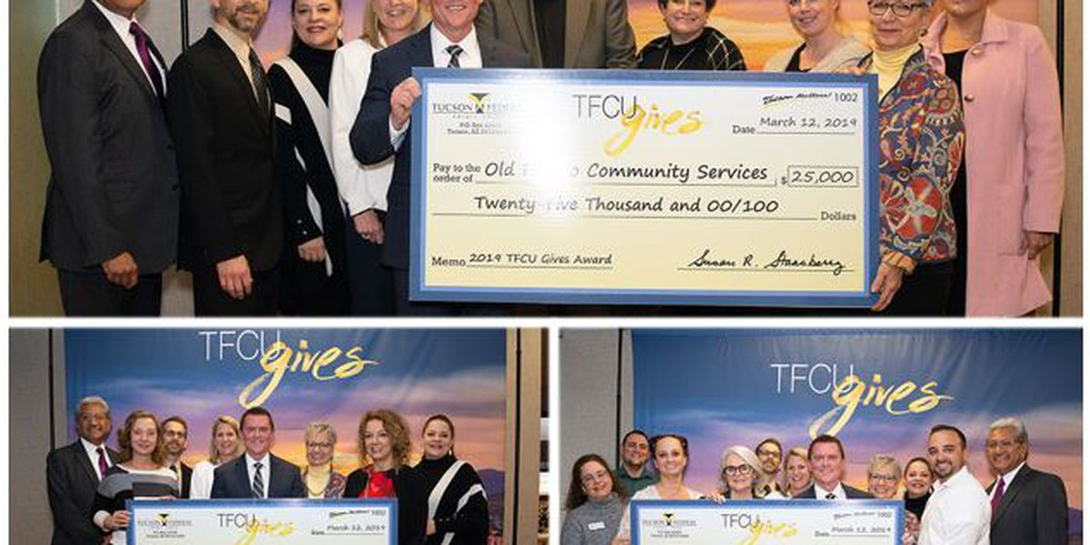 Tucson Federal Credit Union awards grants to 3 local nonprofits