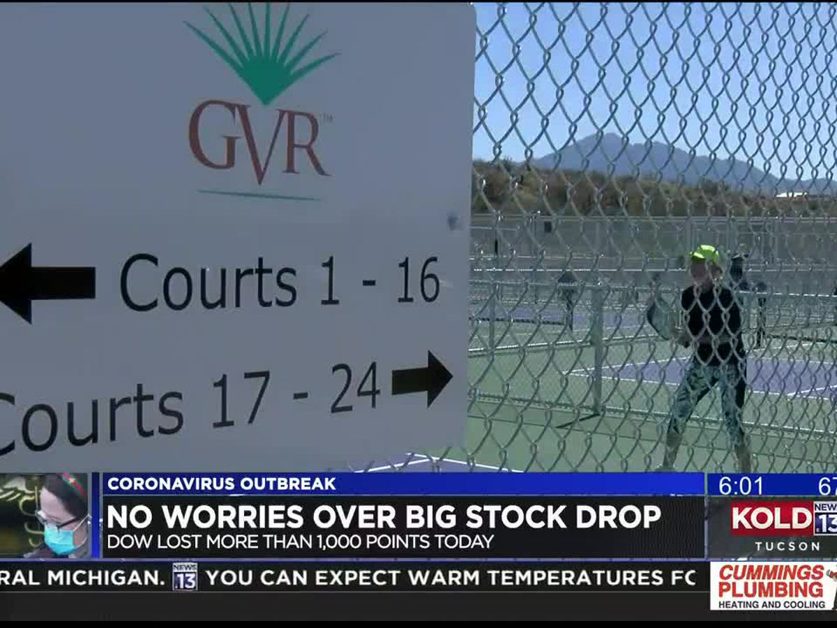 Dow plunges on coronavirus spread