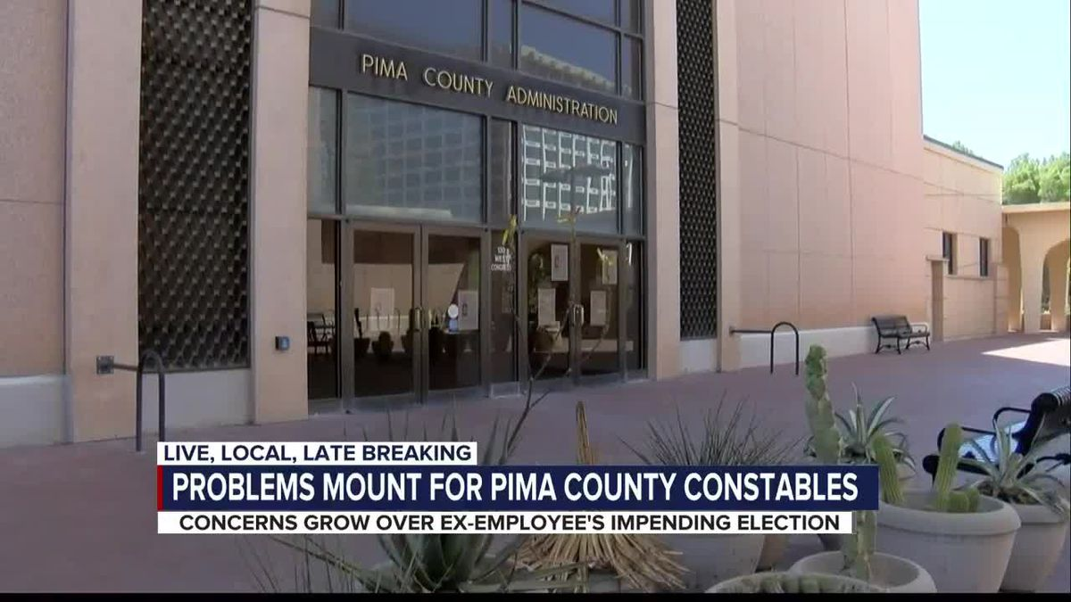 Pima County constables office faces another issue