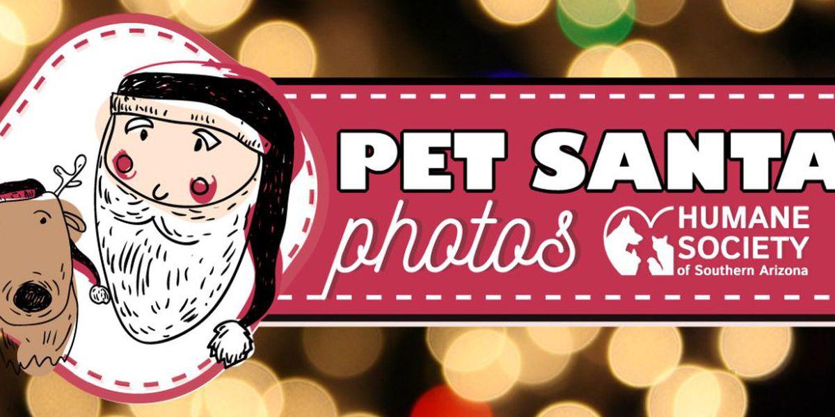 Bring your pets to meet Santa