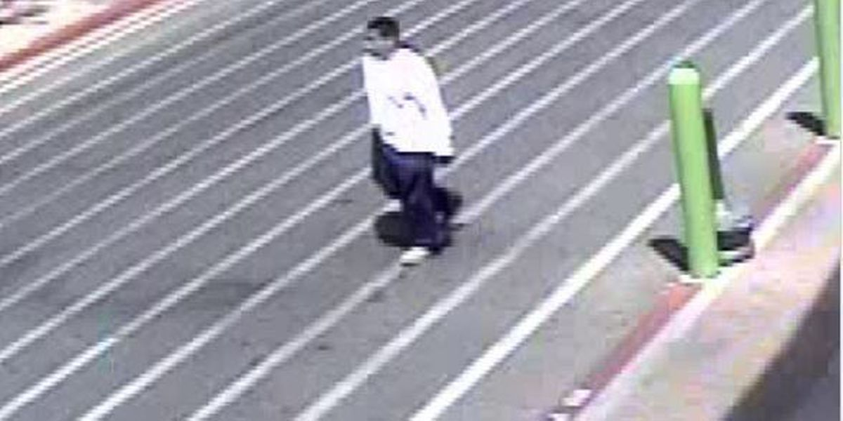 PCSD searching for man suspected of stealing elderly woman's purse