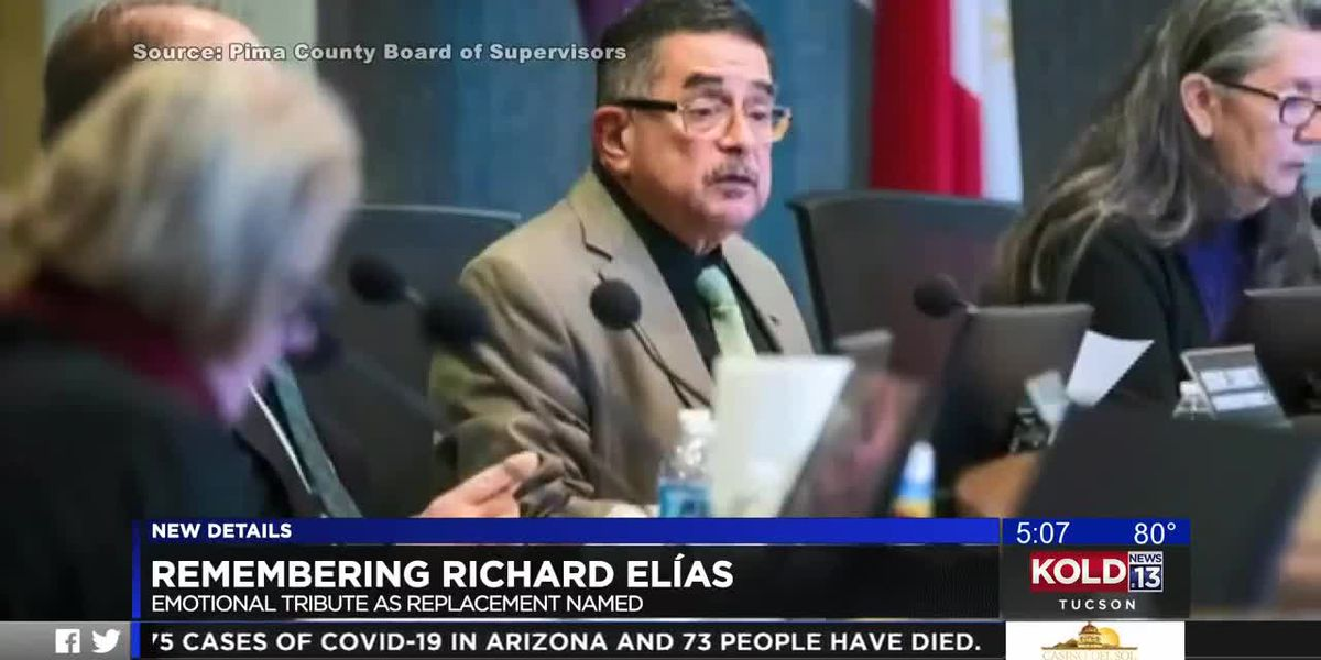 Pima County Board of Supervisors pay tribute to late chairman Richard Ilias